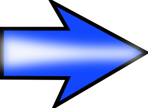 free vector Arrow Blue Right clip art
