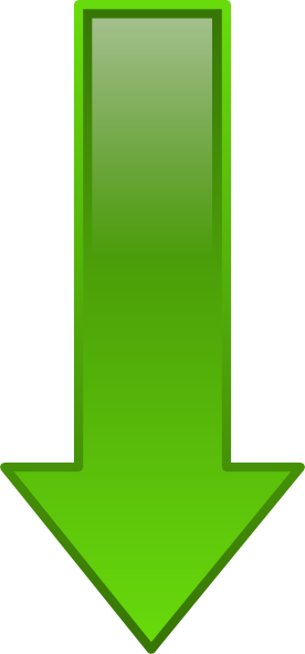 free vector Arrow-down-green clip art