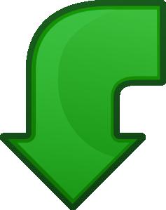Arrow Go Back clip art (117464) Free SVG Download / 4 Vector