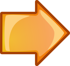 free vector Arrow Orange Right clip art