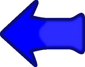 free vector Arrow Set Smooth Left Blubbly clip art
