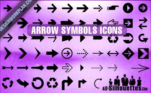 free vector Arrow Symbols Icons