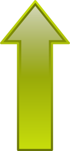 free vector Arrow-up-yellow clip art