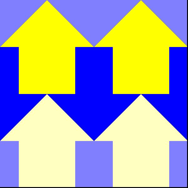 free vector Arrows Reverse 4 Pattern clip art