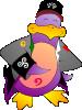 free vector Arsenyk Pingouin Gadzarts clip art