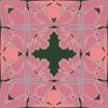 free vector Art Nouveau Tile Pattern clip art
