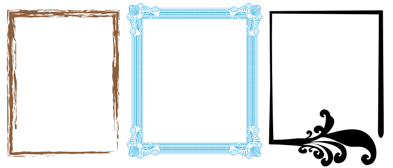 free vector Artistic Frames 1
