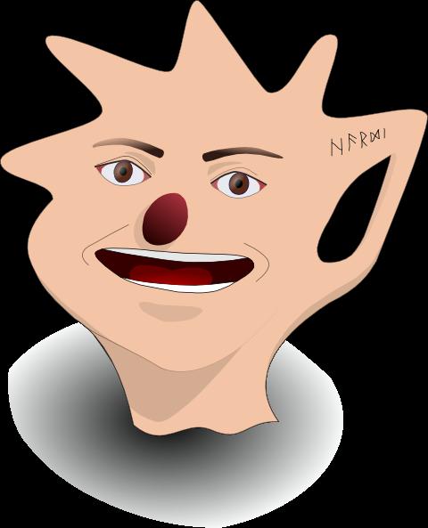 free vector Artistic Man Head clip art