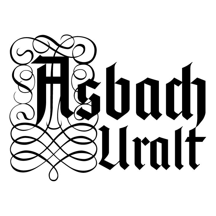 free vector Asbach uralt