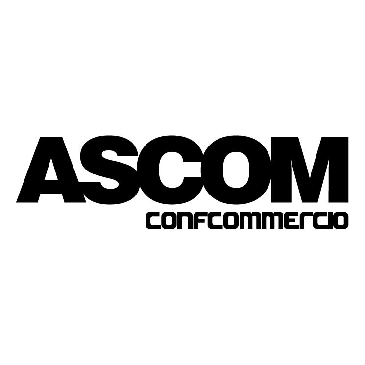 free vector Ascom confcommercio