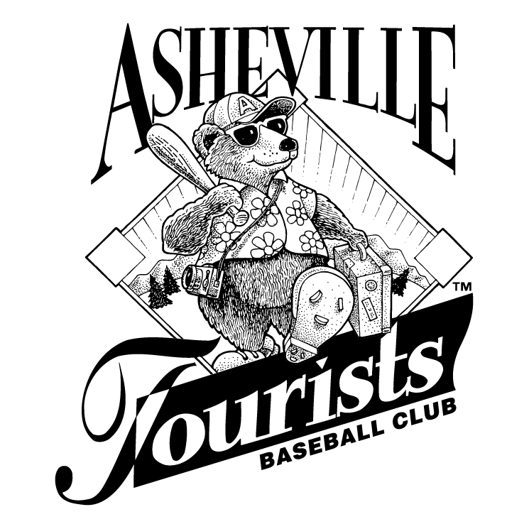 free vector Asheville tourists