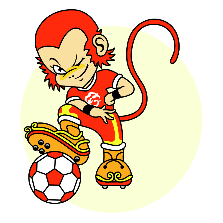 free vector Asian cup 2004