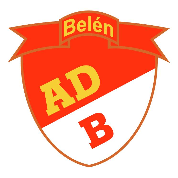 free vector Asociacion deportiva belemita de belen