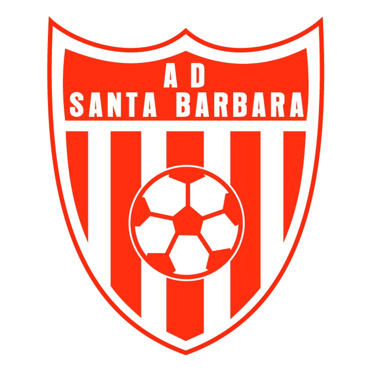 free vector Asociacion deportiva santa barbara de santa barbara