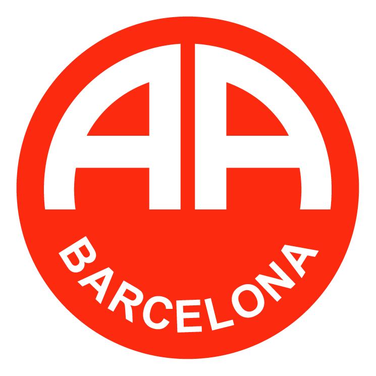 free vector Associacao atletica barcelona de uruguaiana rs