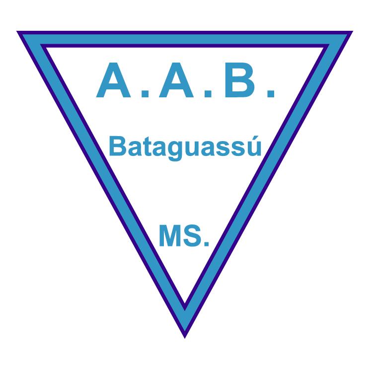 free vector Associacao atletica bataguassuense de bataguassu ms