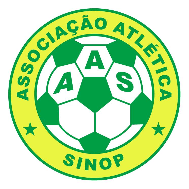 free vector Associacao atletica sinop de sinop mt
