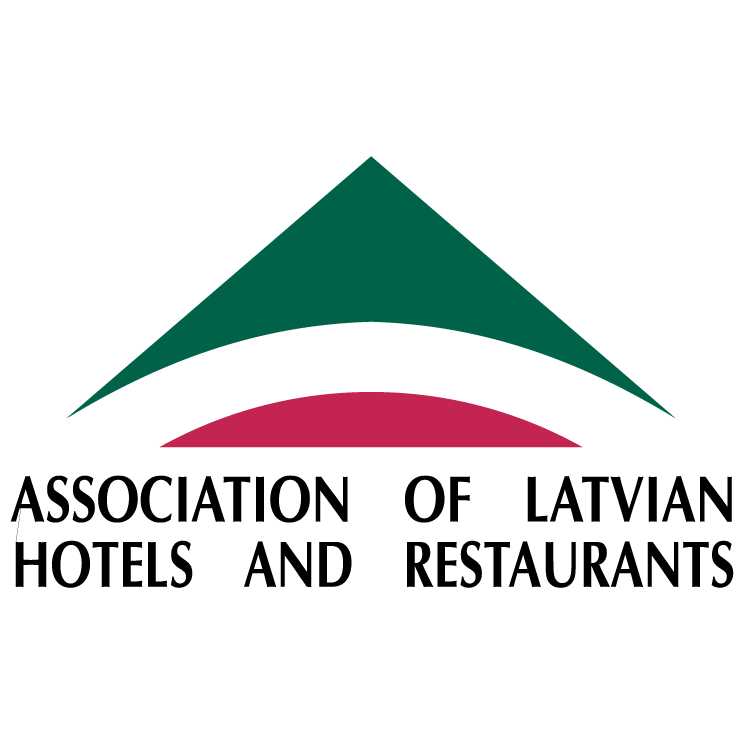 free vector Association of latvian hotels and restaurants