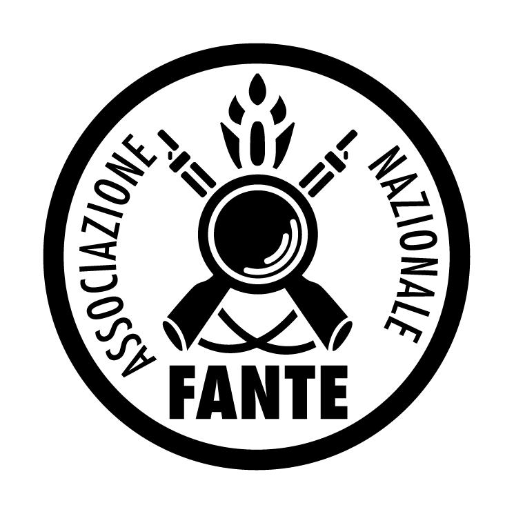 free vector Associazione nazionale fante