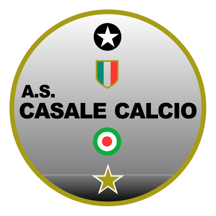 free vector Associazione sportiva casale calcio spa de casale monferrato