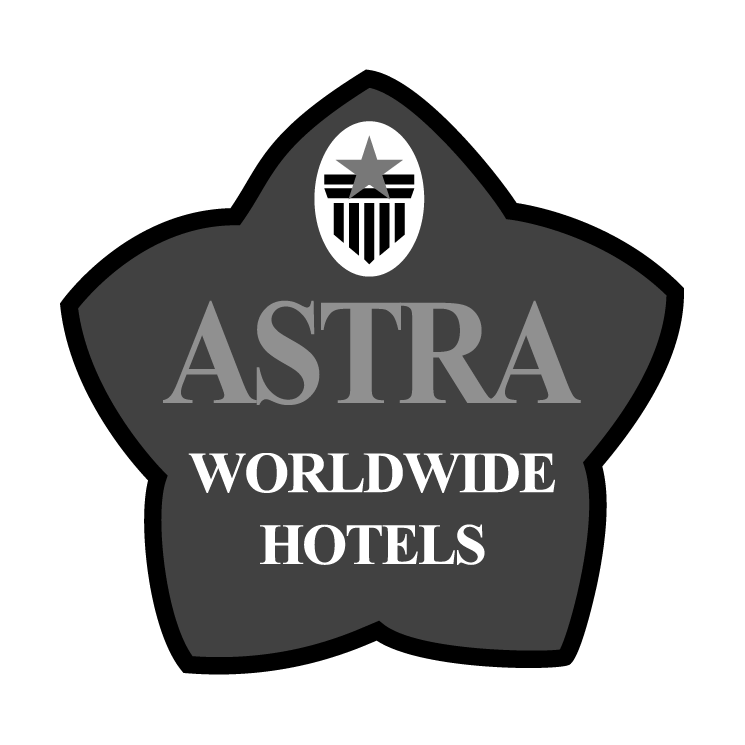 free vector Astra worldwide hotels