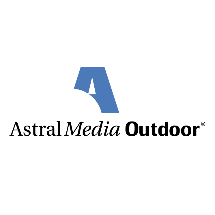 free vector Astral media outdoor