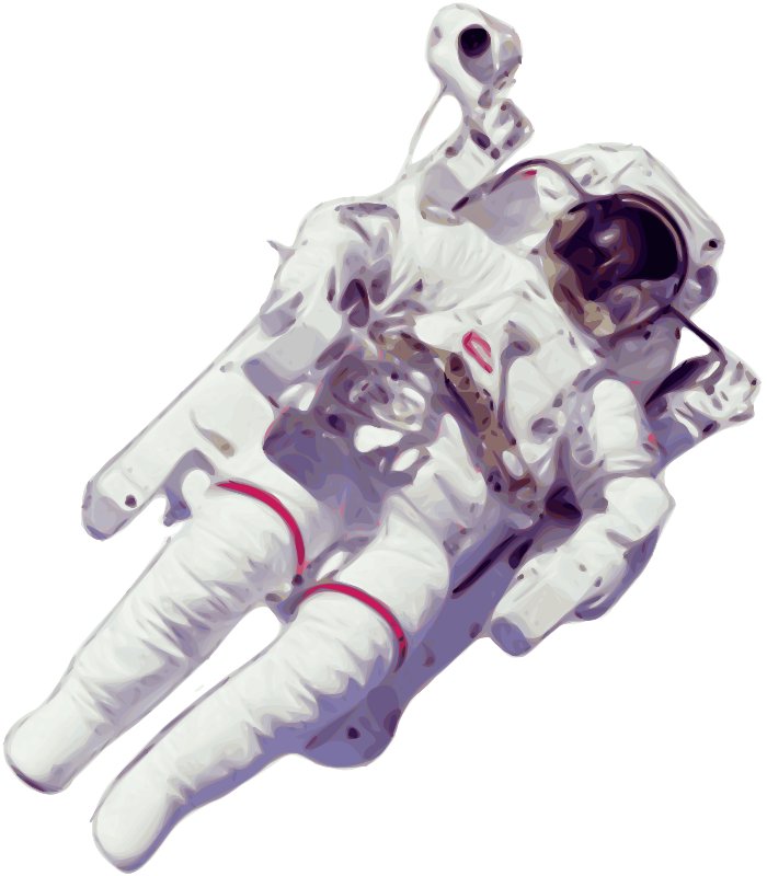 free vector Astronaut Small Version