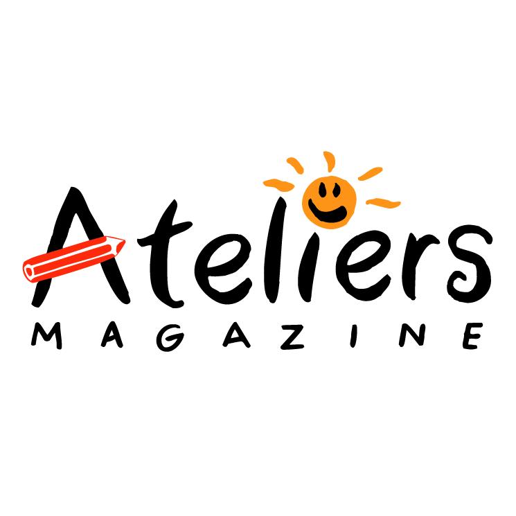 free vector Ateliers magazine