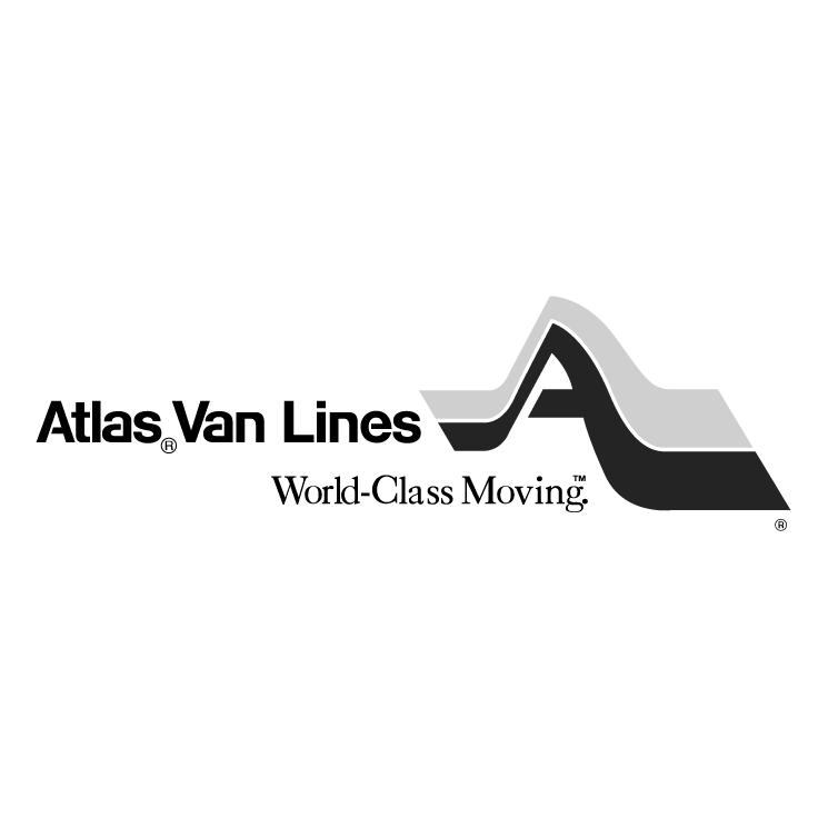 free vector Atlas van lines 0