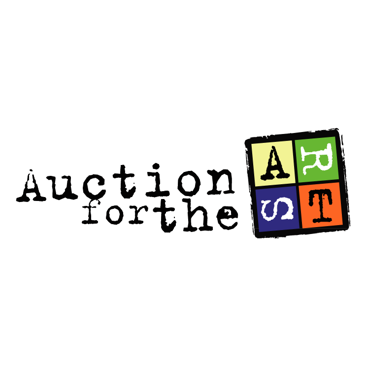 free vector Auction forthe arts