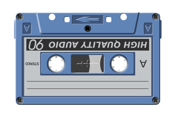 free vector Audio Cassette clip art
