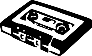 free vector Audio Cassette clip art