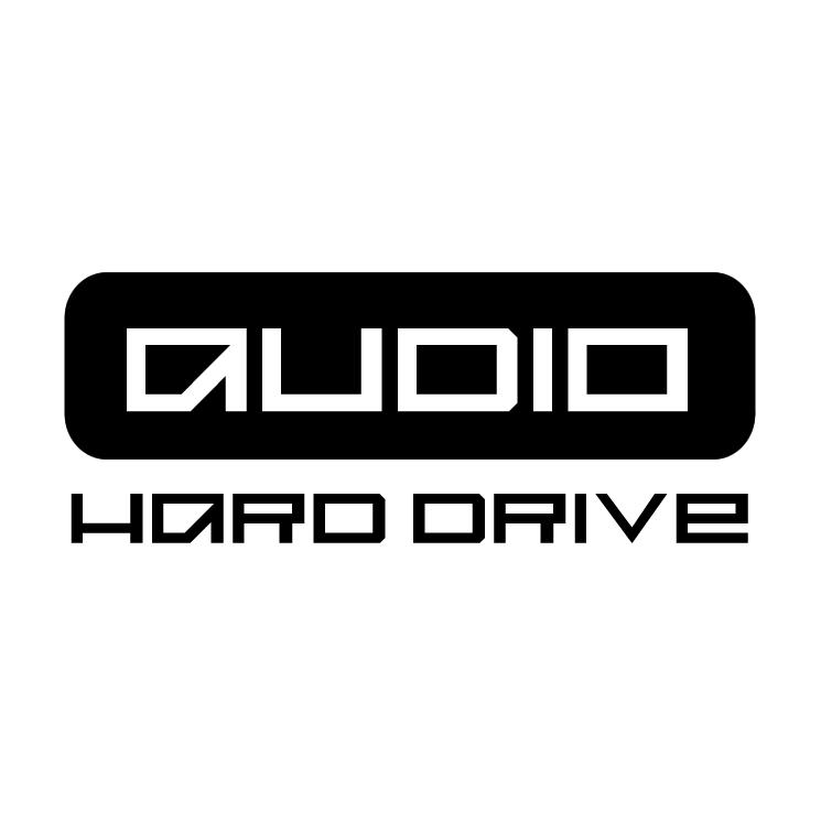 free vector Audio hard drive