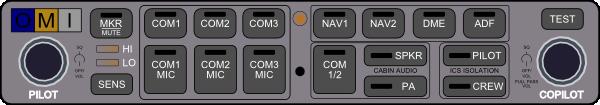 free vector Audio Panel clip art