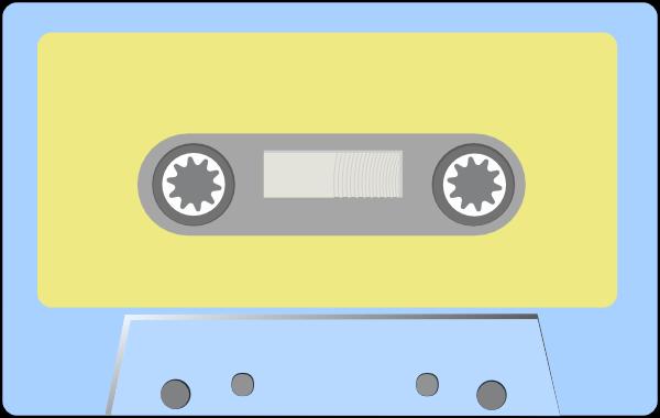 free vector Audio Tape clip art