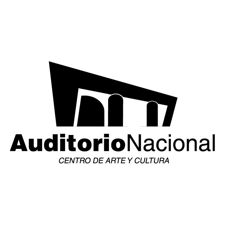 free vector Auditorio nacional