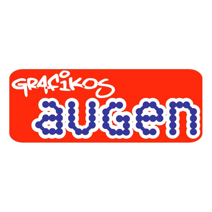 free vector Augen racing graphics