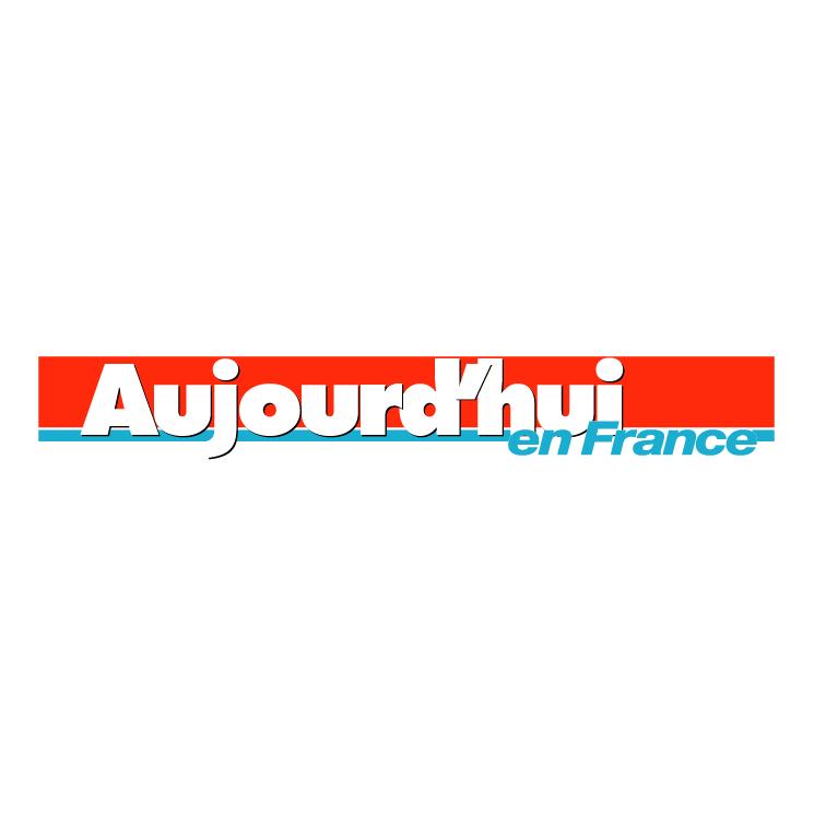 free vector Aujourdhui en france