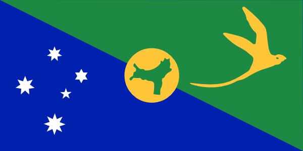 free vector Australia Christmas Island clip art