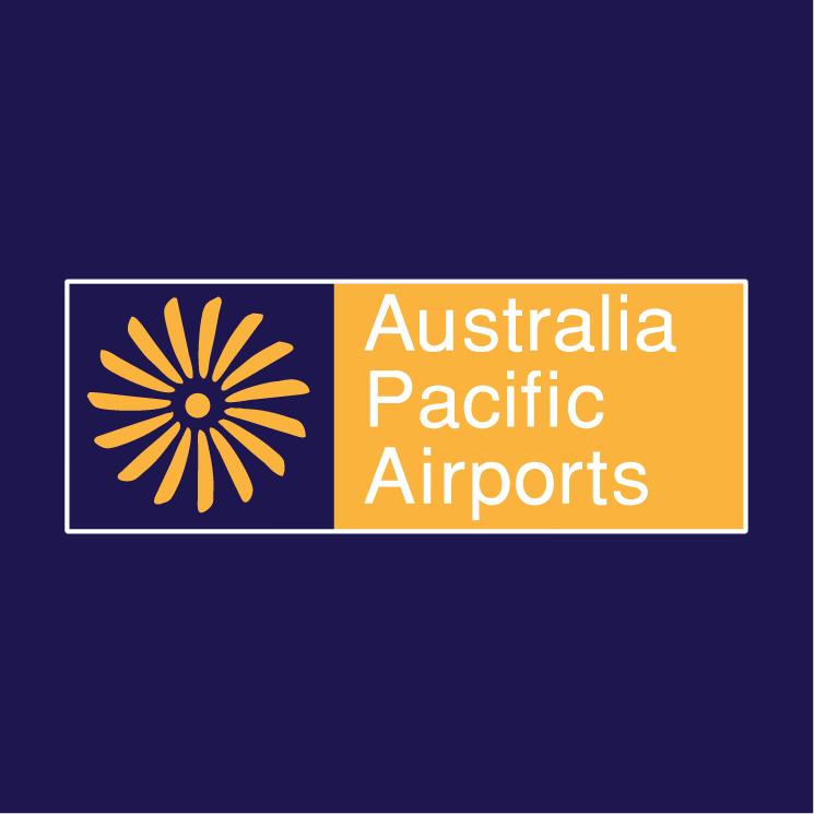 free vector Australia pacific airports