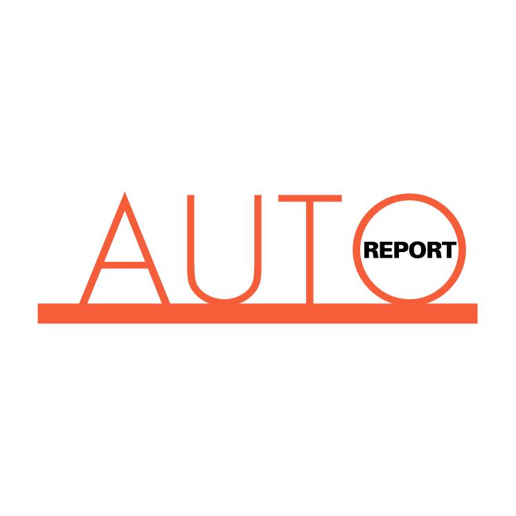 free vector Auto report