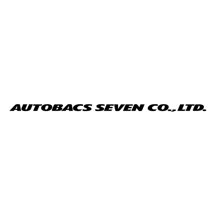 free vector Autobacs seven