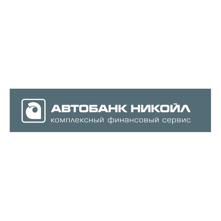 free vector Autobank nikoil 1