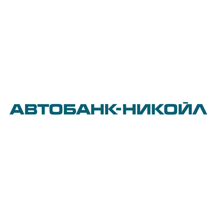 free vector Autobank nikoil