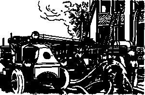 free vector Automobile Fire Engine clip art