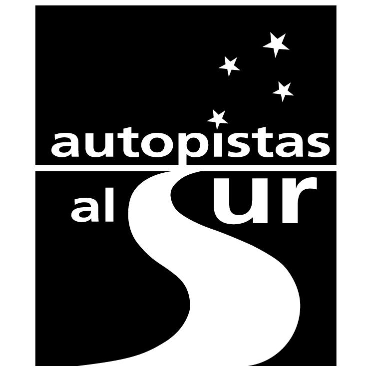 free vector Autopistas al sur