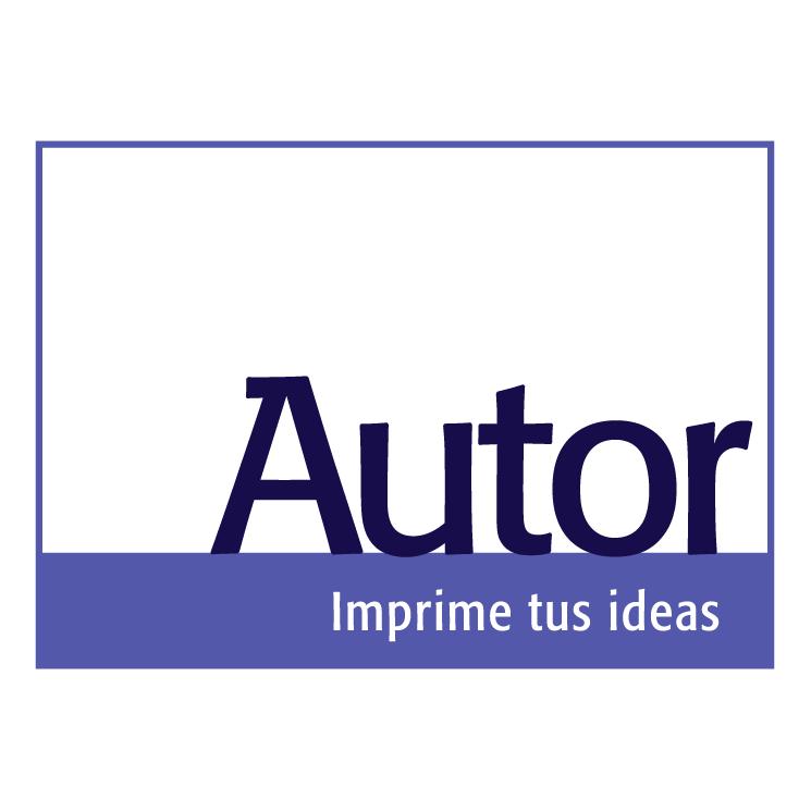 free vector Autor