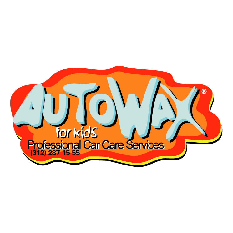 free vector Autowax for kids