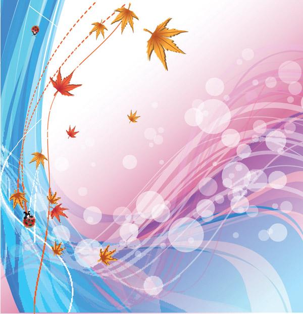 free vector Autumn background vector
