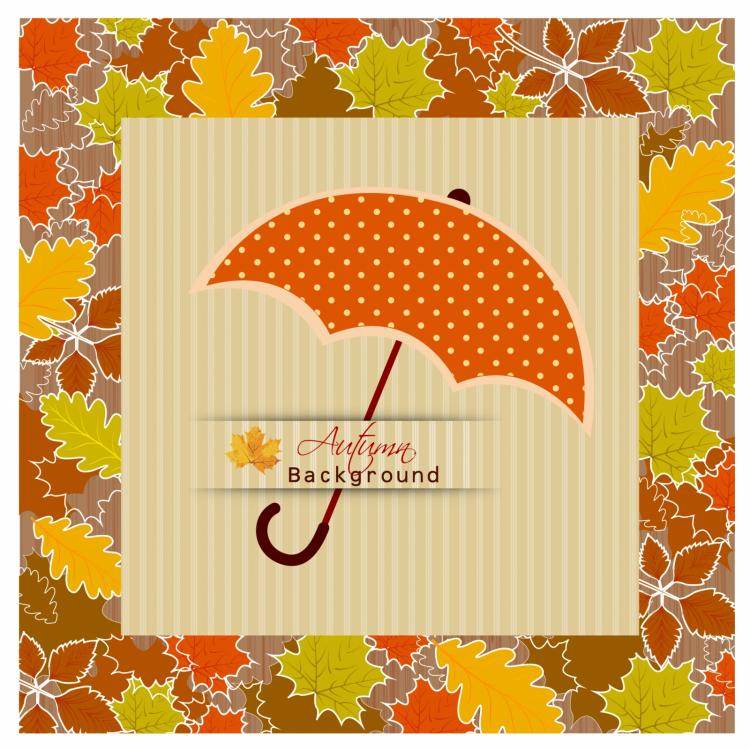 free vector Autumn background